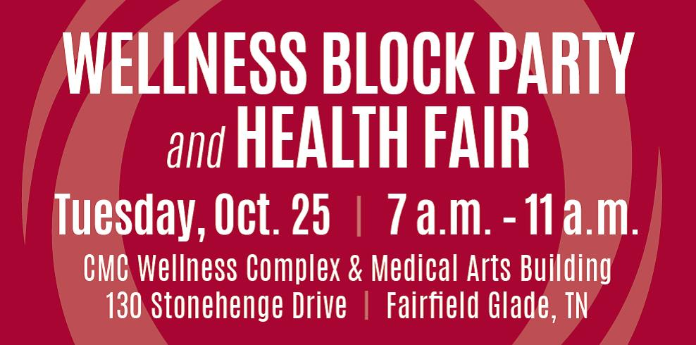 Fairfield Glade Health Fair Oct. 25
