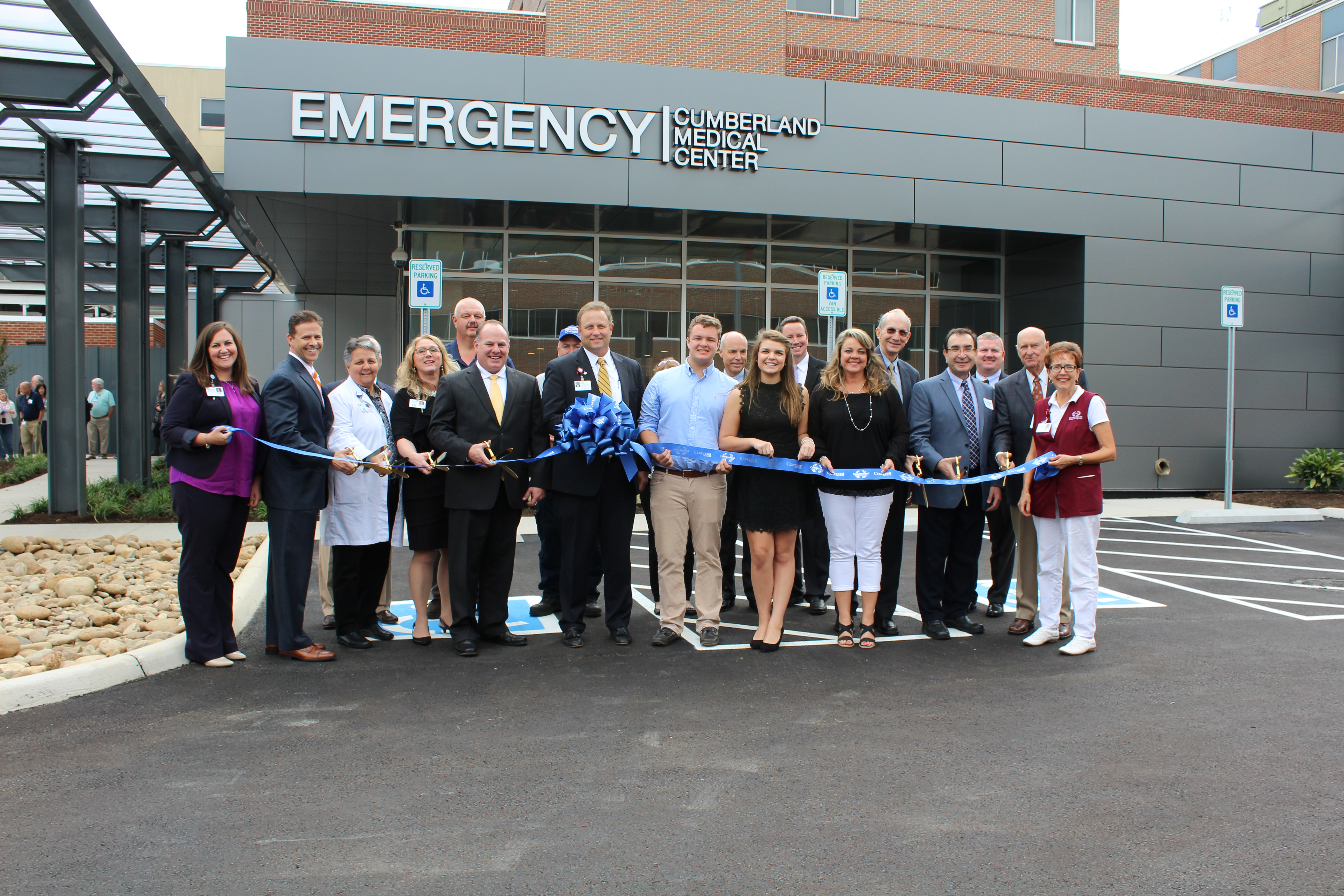 Cumberland Medical Center opens region's newest emergency department.