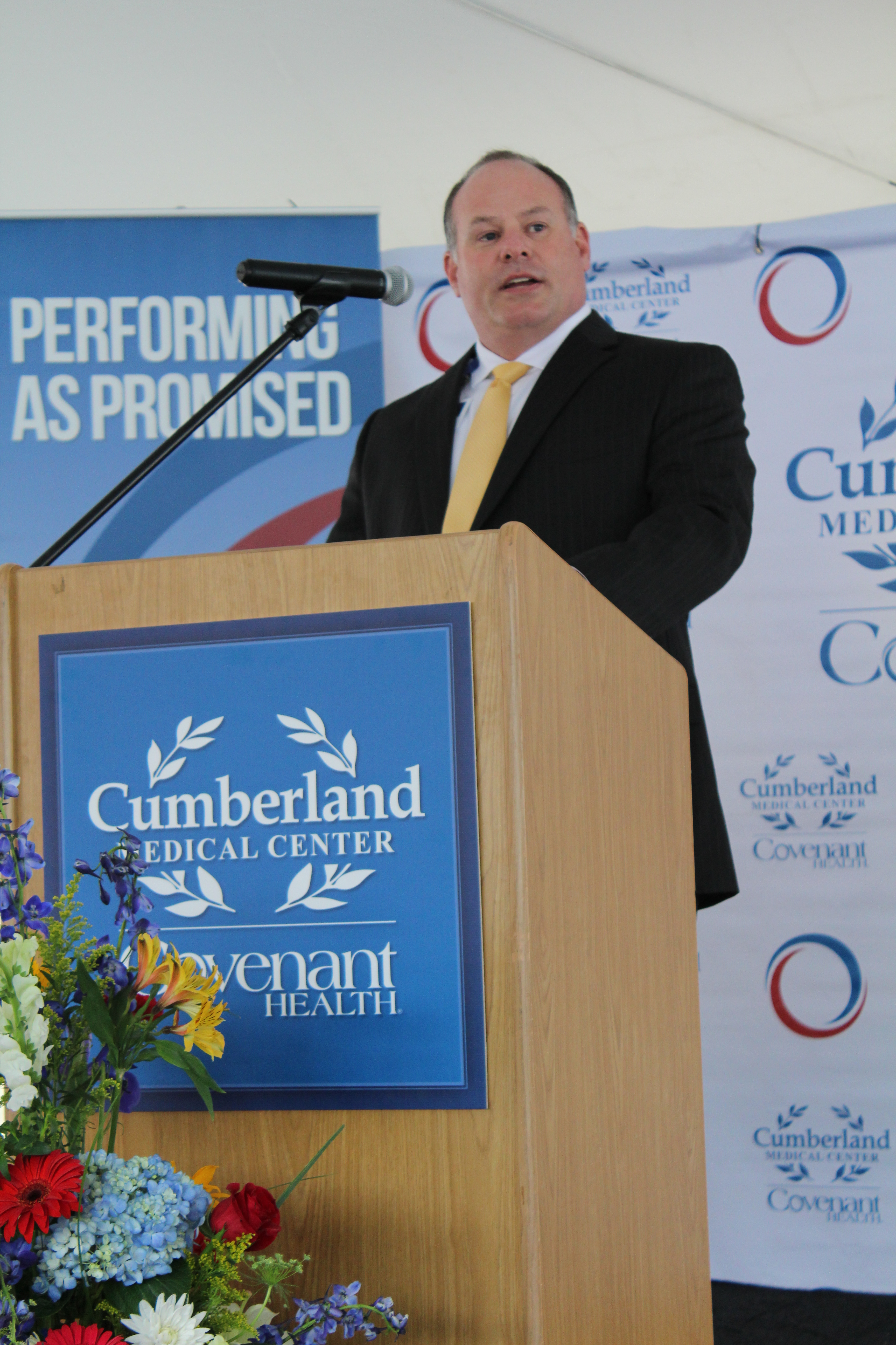 Cumberland Medical Center CAO, David Bunch.