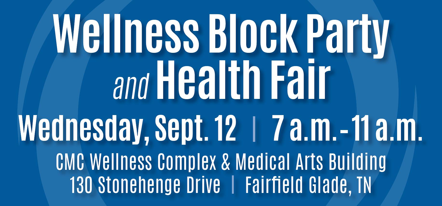 CMC Health Fair at Fairfield Glade 9.12.18